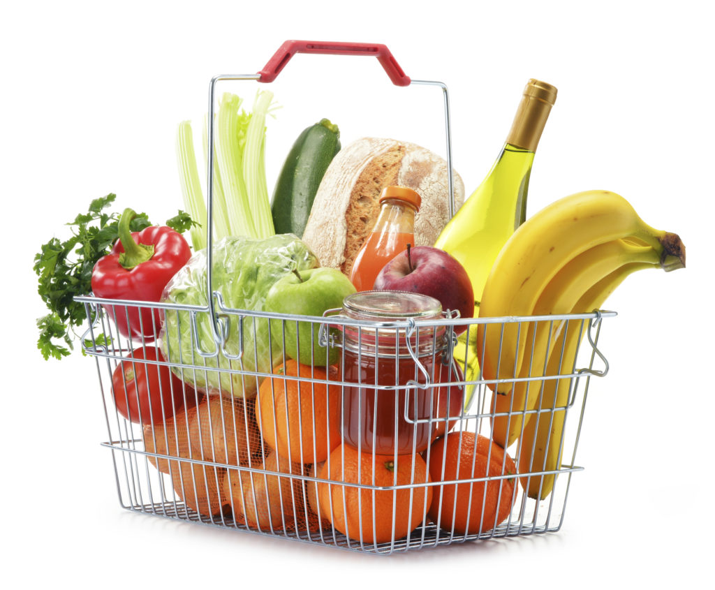 in-store advertising customer basket