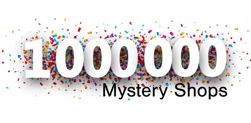 1,000,000 Mystery Shops